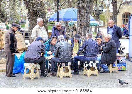 Backgammon Player