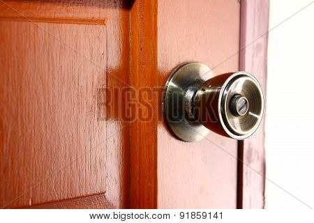 Door lock and door knob