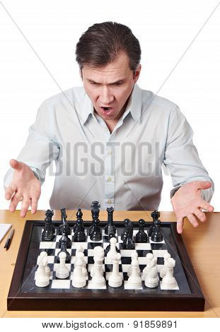 Man Emotionally Perturbed Game Combination In Chess