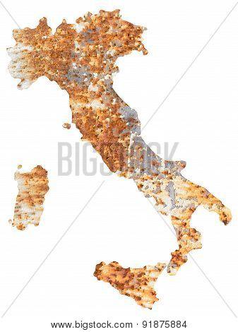 Italy of rust
