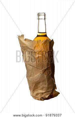 Bottle Of Hard Liquer