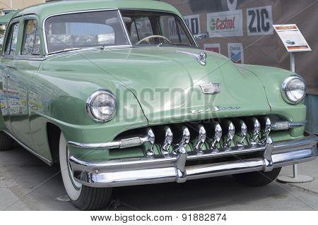 Retro car DeSoto 1951 release