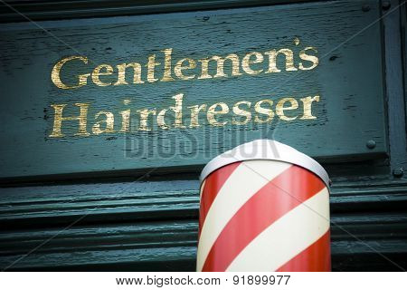 Gents hairdresser