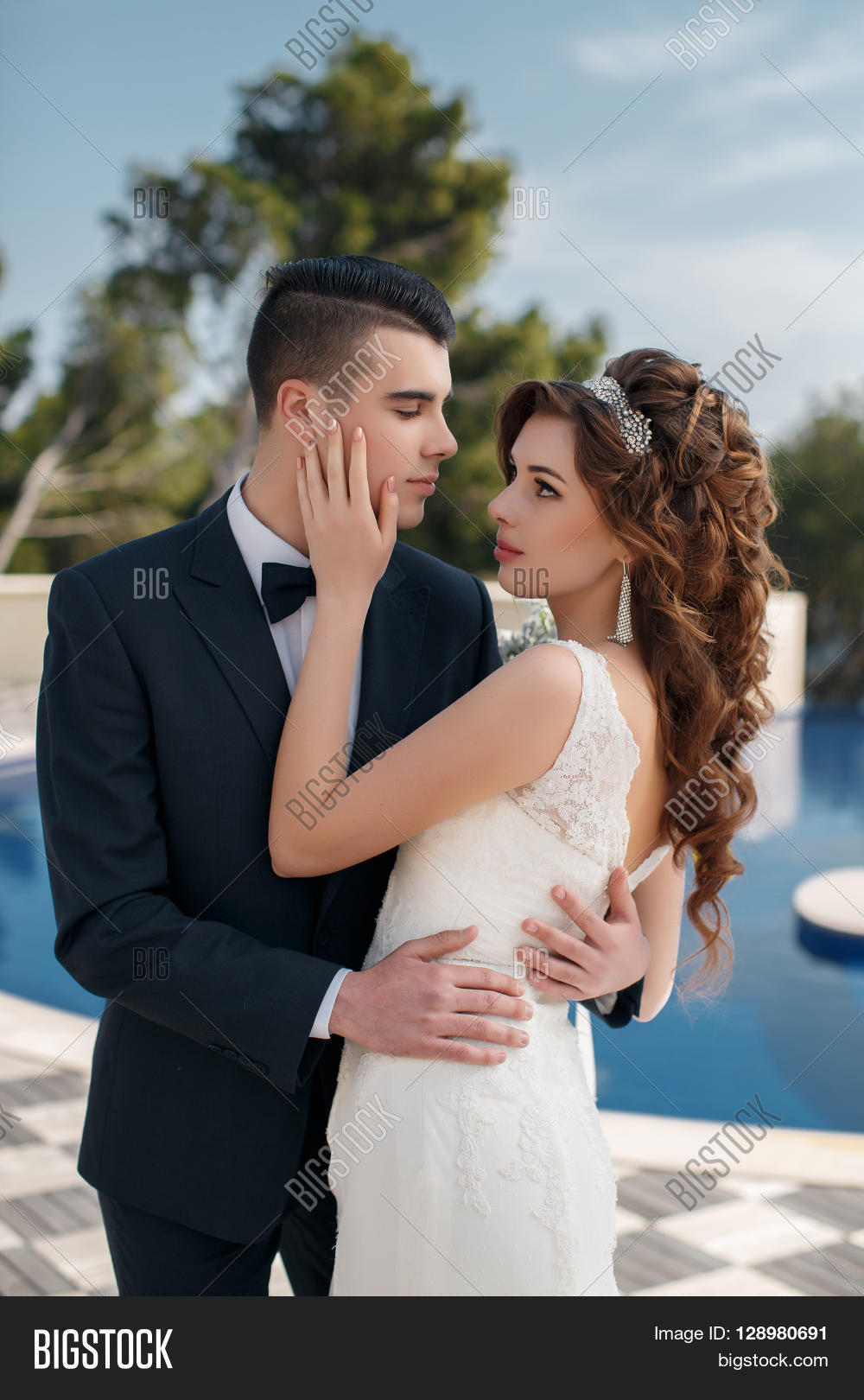 6c8f1d54bc5c8 Young Loving Couple, Image & Photo (Free Trial) | Bigstock