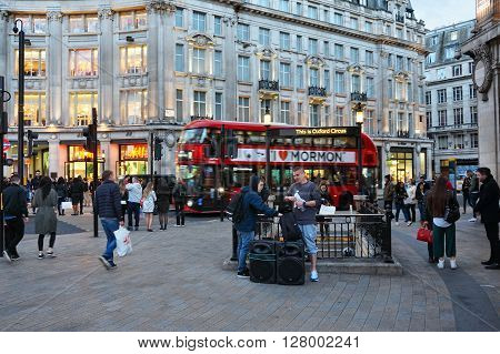 London Oxford Circus