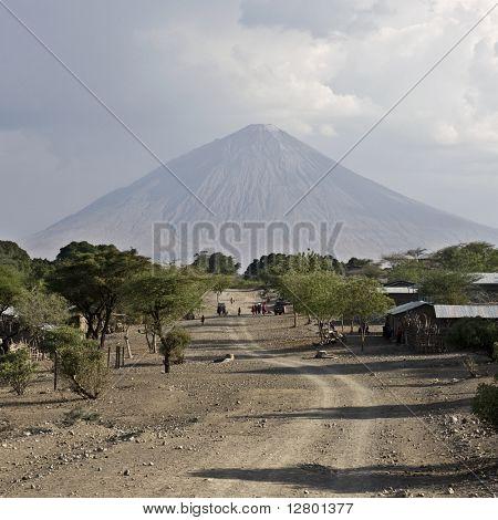 Tanzani volcano, Ol Doinyo Lengai, Tanzania, Africa poster