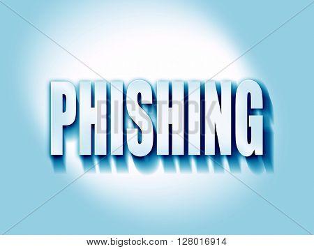 Phising fraud background