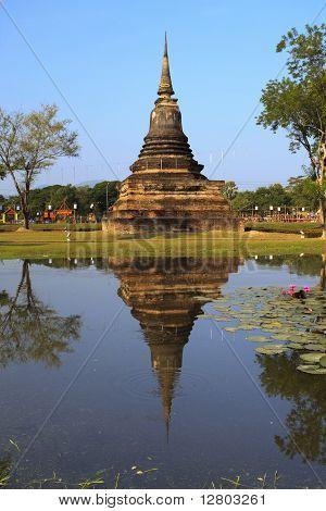 Single Stupa - Sukhothai Historical Park