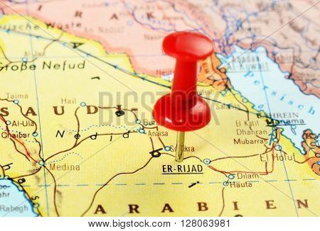 Er Riyadh,saudi Arabia   Map