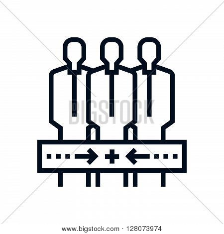 Teamwork, Conform Icon