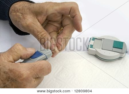 Testing sugar levels