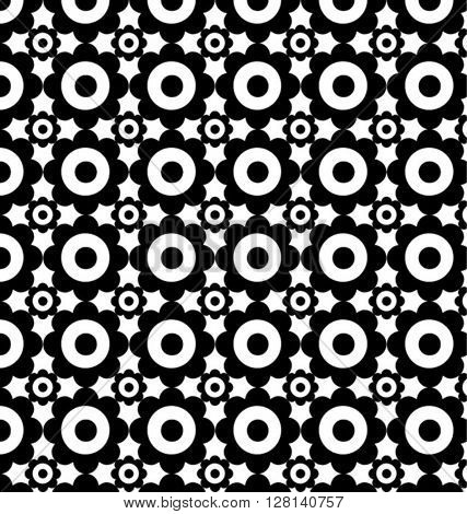 GEOMETRIC PATTERN. Editable vector illustration file.