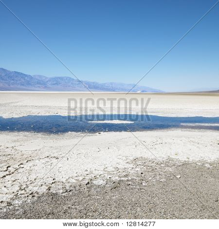 Badwater Basin in Death Valley National Park.