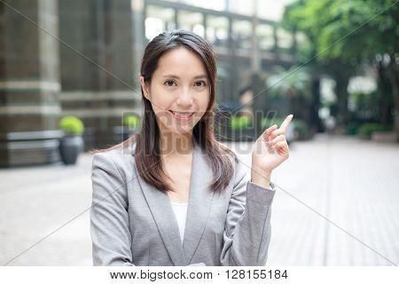 Buisness woman idea