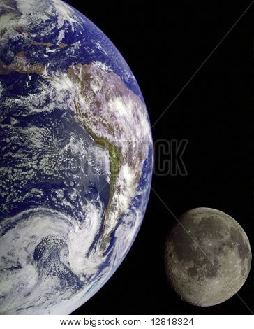 Nasa Image Of Earth From Outer Space.