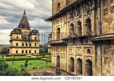 Chaturbhuj Temple in Orchha.  Madhya Pradesh, India