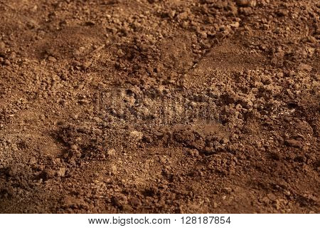 Soil of an agricultural field