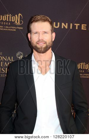 LOS ANGELES - MAY 1:  Travis Stork at the 43rd Daytime Emmy Awards at the Westin Bonaventure Hotel  on May 1, 2016 in Los Angeles, CA