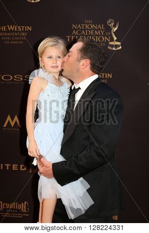 LOS ANGELES - MAY 1:  Avery McGraw, Jay McGraw at the 43rd Daytime Emmy Awards at the Westin Bonaventure Hotel  on May 1, 2016 in Los Angeles, CA