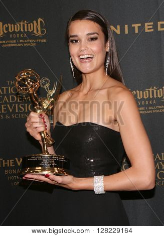LOS ANGELES - MAY 1:  True O'Brien at the 43rd Daytime Emmy Awards at the Westin Bonaventure Hotel  on May 1, 2016 in Los Angeles, CA