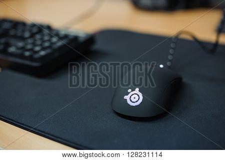 playing mouse LAN final WePlay League Season 3 Dota 29 April - 1 May Kiev Ukraine