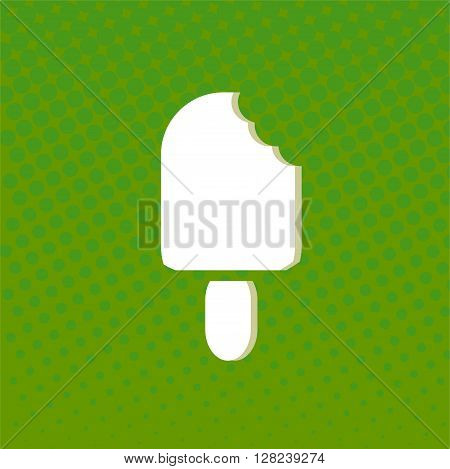 Flat Icon with shadow. Vector EPS 10. art