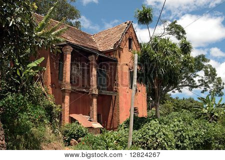 Madagascar - Colonial House In Ruins