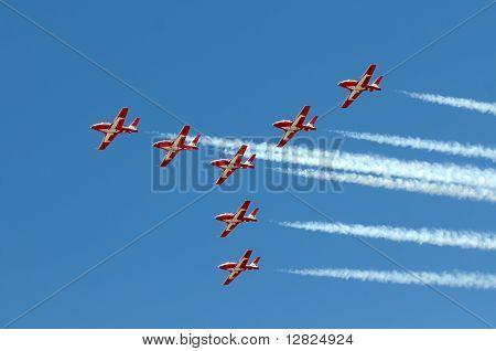 Canadian Snowbirds aerobatic team