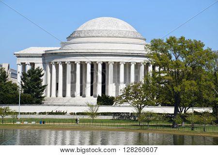 The Thomas Jefferson Memorial in Washington, DC (USA)
