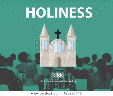 Holiness Gospel Pray Spiritual Wisdom Worship Concept