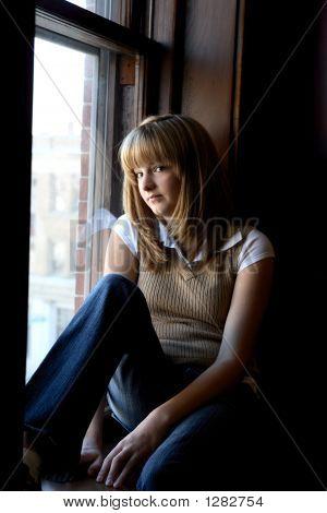 Teen At Window