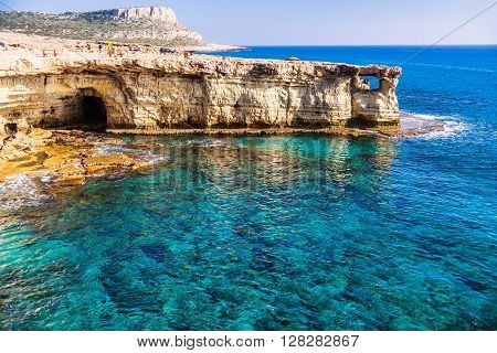 Cape Greco also known as Cavo Greco a headland in the southeastern part of the island of Cyprus.