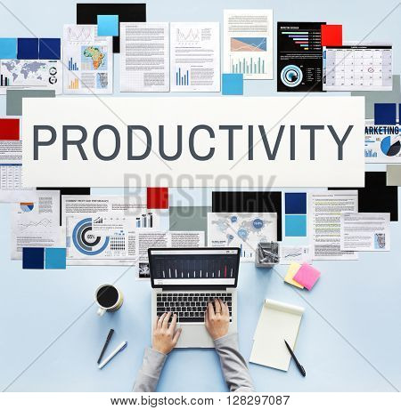 Productivity Efficiency Development Improvement Concept