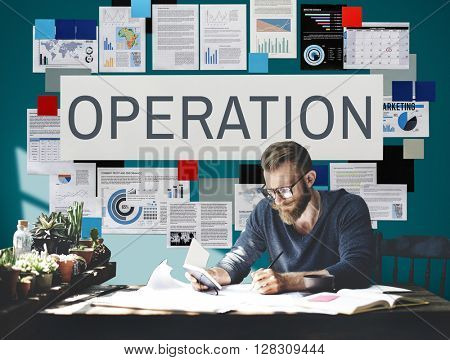 Operation Effective Functional Operate Viable Concept poster