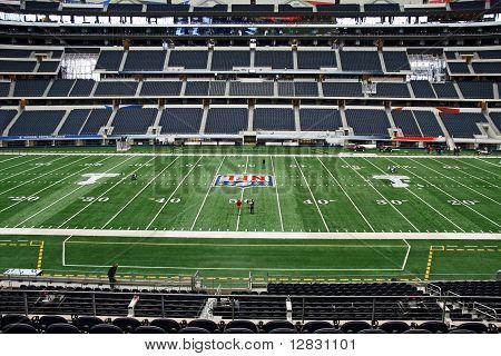 Cowboys Stadium Super Bowl Field