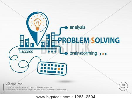 Problem-solving Concept For Application Development, Creative Process.