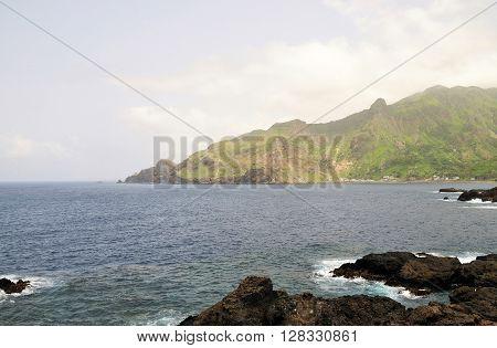 Volcanic Rocks In The Bay