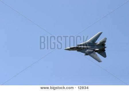 F14 Tomcat In Flight