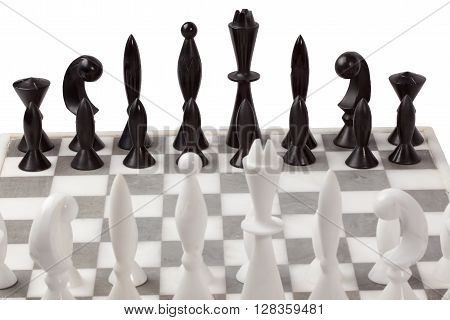 Chess Board Alabaster