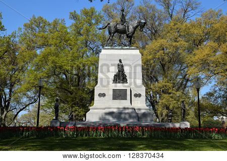 William Tecumseh Sherman Monument at Sherman Park, Washington, DC