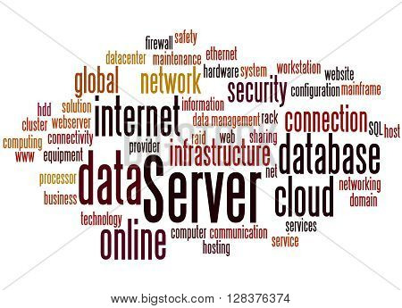 Server, Word Cloud Concept 3