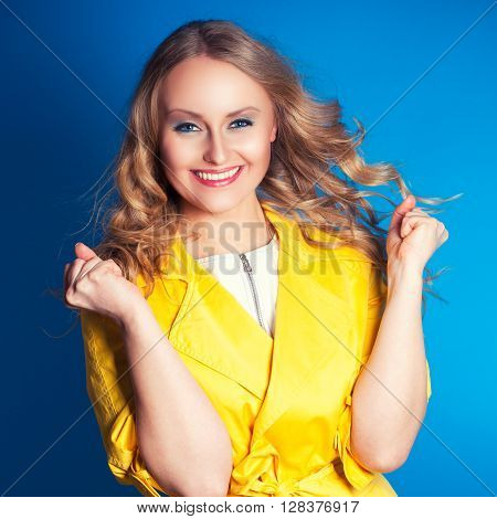 Beautiful Young Happy Smiling Woman