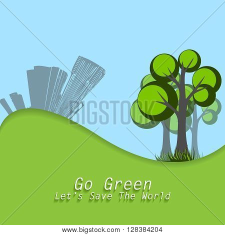 World Environment Day concept. Elements for your design. Eps10