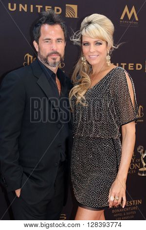LOS ANGELES - MAY 1:  Shawn Christian, Arianne Zucker at the 43rd Daytime Emmy Awards at the Westin Bonaventure Hotel  on May 1, 2016 in Los Angeles, CA