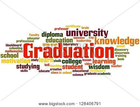 Graduation, Word Cloud Concept 7