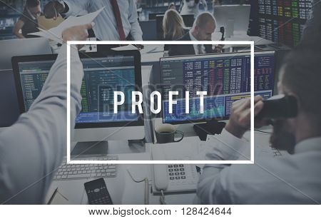 Profit Accounting Assets Benefit Earning Gain Concept