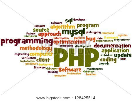 Php Programming, Word Cloud Concept 7