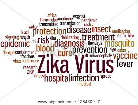 Zika Virus, Word Cloud Concept 9