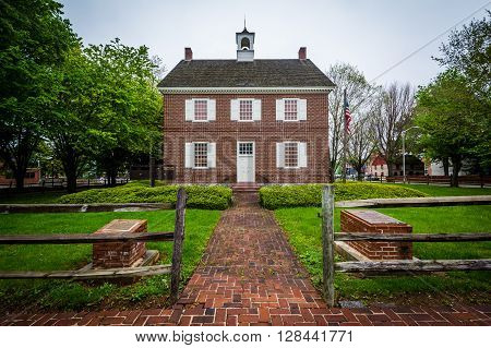 The Colonial Courthouse, In Downtown York, Pennsylvania.