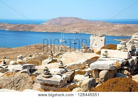 Famous   In Delos  The Historycal   Ruin Site